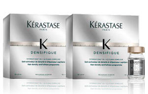 SET OF TWO PACKAGES OF ACTIVATOR FOR DENSITY AND THICKNESS OF THE HAIR - DENSIFIQUE